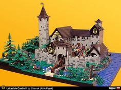 Lakeside Castle II by Piglet Ciamek on Flickr