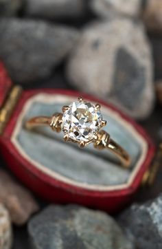 Antique Engagement Rings, Solitaire Engagement, Rings N Things, Diamond Cuts, Wedding Rings, Jewelry, Jewlery, Jewerly, Rings And Things