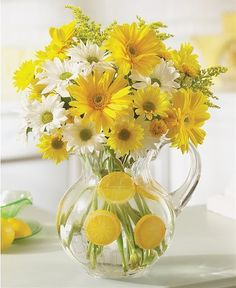 Order flower arrangement from Blooming Bouquet, your local San Jose , CA florist. Send floral arrangement throughout San Jose , CA and surrounding areas. Ikebana, Yellow Flower Centerpieces, Flower Decorations, Lemon Centerpieces, Fresh Flowers, Yellow Flowers, Beautiful Flowers, Exotic Flowers, Tropical Flowers