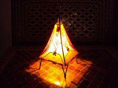 Moroccan Henna lamp