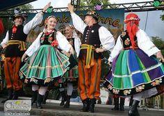 Polish folklor ZPiT Stobniczanie Łowicz region