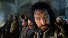 """Alan Rickman as the sheriff in """"Robin Hood: Prince Of Thieves"""". 1991"""