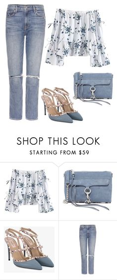 """""""Untitled #1808"""" by ebramos ❤ liked on Polyvore featuring Rebecca Minkoff, Valentino and GRLFRND"""