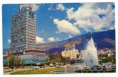 Plaza Venezuela. Caracas. Fines de los años 50s. 11137096_10152735327156682_3748719223532854775_n.jpg (770×502)