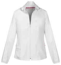 Nursing Jackets, Cherokee Uniforms, White Scrubs, Scrub Jackets, Medical Scrubs, Jacket Style, Hoodie Jacket, Shirt Dress, Boutique