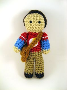 The Big Bang Theory Sheldon Cooper Amigurumi by gensquared on Etsy