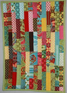 scrap fabric quilt project - Google Search