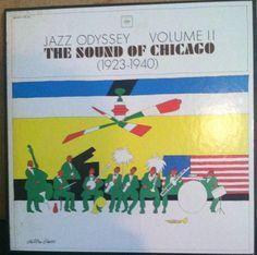 Jazz Odyssey Vol. II Sound Of Chicago 1923-1940 Vinyl Jazz 3 Record Box Set by RASVINYL on Etsy