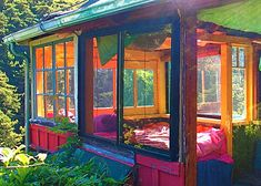 Sunroom/bedroom.