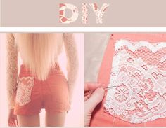 Glam Radar | DIY Lace Shorts For All Outfits