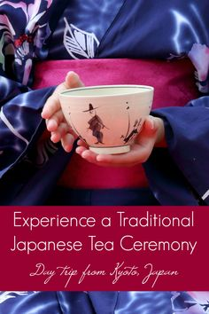 Here's what it's like to experience a traditional Japanese tea ceremony in the green tea growing village of Uji, Japan - a short day trip from Kyoto. Visiting Nakamura Tokichi Honten, a 160-year-old Japanese green tea company just outside of Kyoto, Japan that offers tourists the opportunity to participate in a traditional Japanese tea ceremony and matcha tea grinding demonstration.