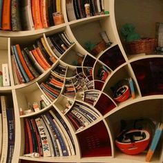 Spider web shelf