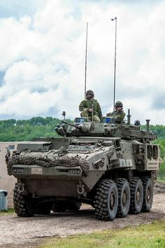 """militaryarmament: """" United States Army soldiers from the Battalion, Infantry Regiment, 'A' Company, platoon, patrolling alongside Canadian Army soldiers from The Loyal Edmonton Regiment. Military Armor, Military Guns, Army Vehicles, Armored Vehicles, Tank Armor, Canadian Army, Military Pictures, Armored Fighting Vehicle, Battle Tank"""