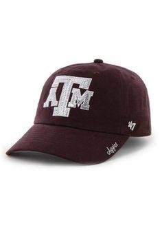 '47 Texas A&M Aggies Maroon Sparkle Adjustable Hat