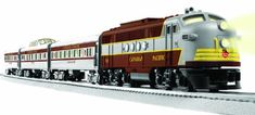 Lionel Canadian Pacific Passenger Train Set  - Click image twice for more info - See a larger selection of lionel  at http://zkidstoys.com/product-category/lionel/ - kids, toddler, grown up toys, building toys, educational toys, christmas 2014, holidays, gift ideas