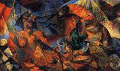 Nudo (complementarismo plastico di forma-colore) - 1913