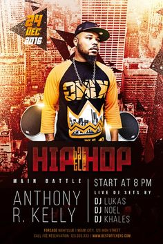 Hip-Hop Battle Free Flyer Template - http://freepsdflyer.com/hip-hop-battle-free-flyer-template/ Enjoy downloading the Hip-Hop Battle Free Flyer Template created by Bestofflyers!   #Battle, #Beats, #Club, #Dance, #Dj, #HipHop, #Minimal, #Night, #Party, #Punchlines, #Rap, #Rhymes, #Stage