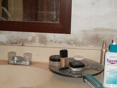 So its ok to keep the Chanel make up next to the moldy wall?