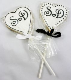 These would be cute wedding or shower favors