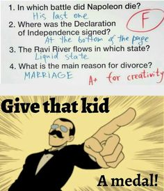 Funny School Memes, Crazy Funny Memes, Funny Relatable Memes, Wtf Funny, Funny Jokes, Hilarious, Funny Kid Answers, Funniest Kid Test Answers, Kids Test Answers