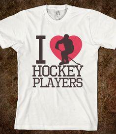 I heart hockey players