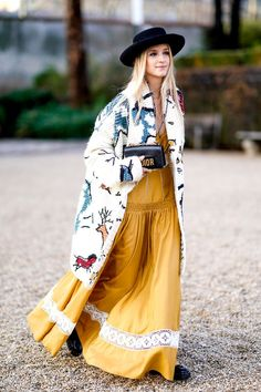 Fashion girls are demonstrating some stylish ways to wear yellow outfits. Get some inspiration from their looks.