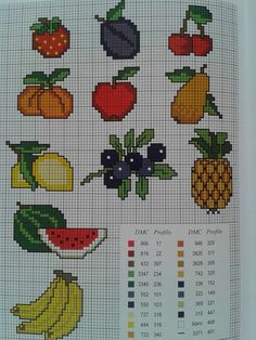 1 million+ Stunning Free Images to Use Anywhere Cross Stitch Fruit, Cross Stitch Alphabet, Counted Cross Stitch Patterns, Cross Stitch Designs, Free To Use Images, Plastic Canvas Patterns, Knitting Projects, Cross Stitching, Beading Patterns