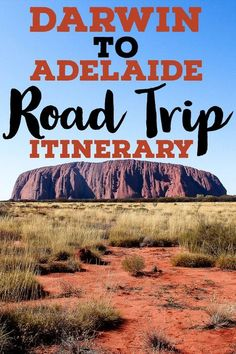 Planning on taking a Darwin to Adelaide road trip? This drive will take you through the red centre of Australia, across the Northern Territory and South Australia. The Adelaide to Darwin drive encompasses the best things to do in Alice Springs, a guide to visiting Uluru, the best things to do in Darwin and the best things to do in Adelaide. Check out this Australian outback road trip itinerary for all the details! #roadtrip #australia #outback