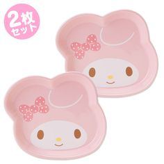 マイメロディ フェイス形小皿2枚セット【楽天市場】