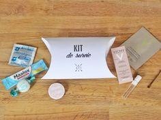 Kit de survie rempli de petits cadeaux pour EVJF par Mes dernieres lubies