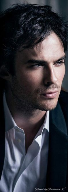 Ian Somerhalder he's my Christian Grey ❤️⛓
