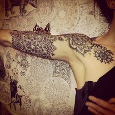 Saskia   Third Eye Tattoo