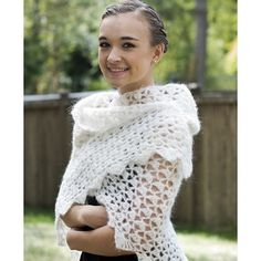 Cascade Yarns A224 Cloud Wrap (Free) at WEBS | Yarn.com