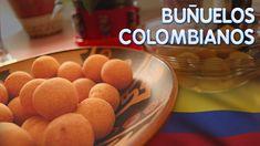 BUÑUELOS COLOMBIANOS - Cocinando con Aurita Queso Feta, Queso Fresco, Cereal, Cookies, Breakfast, Youtube, Desserts, Food, Fried Chicken