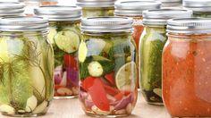 In der Wildnis: Konserven im Glas halten sich besser als die in der Dose!