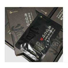 Korean Black Ginseng Extract Healthy TONIC 40ml * 30 pcs CJ NEW #cHEILJEDANG Korean Red Ginseng, Healthy, Black, Black People, Health