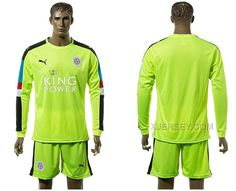 http://www.xjersey.com/201516-leicester-city-green-goalkeeper-jersey.html 2015-16 LEICESTER CITY GREEN GOALKEEPER JERSEY Only $35.00 , Free Shipping!
