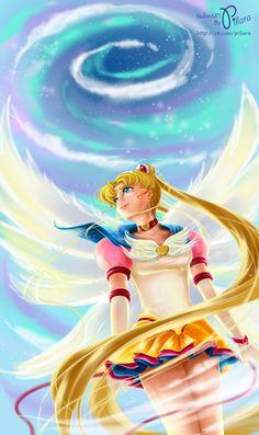 Eternal Sailor Moon by Pillara on DeviantArt