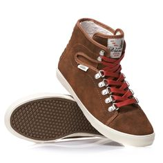 Vans Hadley Hiker Brown Women s Skate Shoes Size 9  b967aa8cc