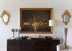 Art—like this oil painting, family heirlooms, and things gathered during her travels—is what de Lesseps believes makes both her Sag Harbor and Upper West Side houses, feel like home.