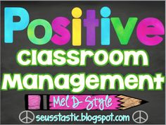 Positive Rewards for Classroom Management