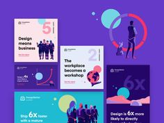The New Design Frontier: Report on how design affects business designed by Anton Aheichanka for InVision. Connect with them on Dribbble; the global community for designers and creative professionals. Web Design, Layout Design, Social Media Template, Social Media Design, Template Web, Plakat Design, E Motion, Photoshop, Instagram Design