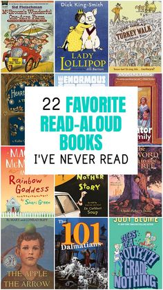 Children's Novels I've Never Read (But I Definitely Want To!)