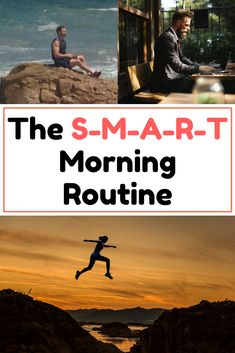 The SMART Morning Routine can be completed in a little as 30 minutes and still provide the majority of benefits of longer AM Rituals. Let's get started. Routine, Tim Ferriss, Working Man, World Problems, Tony Robbins, Personal Development, Life Lessons, Health And Wellness, Dads