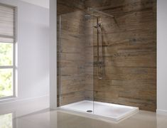 Frameless shower screens can be used in both modern and traditional settings.  The ultimate in flexible bathroom design if you ask us.... #bathroom #shower #enclosure