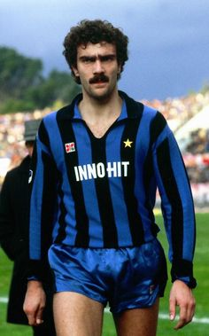 Giuseppe Bergomi à l'Inter Milan à ses 18 ans