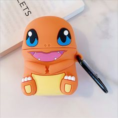 Charmander Pocket Monsters Cartoon cute soft silicone case Airpods Case Earphones Headphone Stand Phone Cases Cover Clear Apple Airpod Pro Airpod Pro, Charmander, Marketing And Advertising, Monsters, Phone Cases, Apple, Cartoon, Pocket, Cover