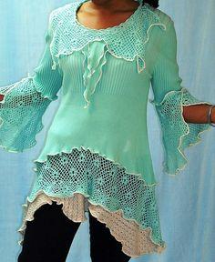 Soft Turquoise Tunic | Flickr - Photo Sharing!
