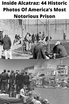Step inside Alcatraz Prison with these harrowing vintage images of brutal riots, daring escapes, and notorious inmates. Frank Morris, Stanford Prison Experiment, Prison Life, Haunting Photos, Solitary Confinement, Trending Photos, Life Sentence, Al Capone, Graphic Design Services