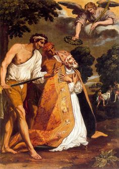 Luis Tristán, Martirio de San Eugenio.